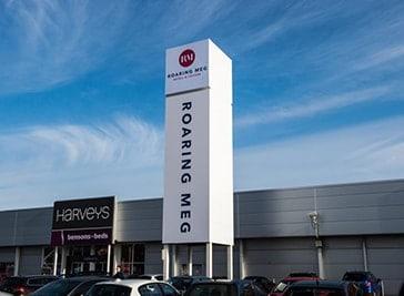 Roaring Meg Retail Park